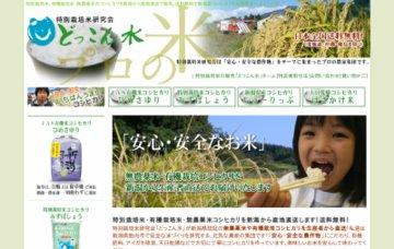 中条町特別栽培米研究会どっこん水